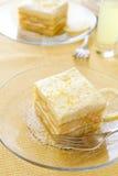 tiramisu лимона стоковое изображение