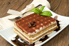 Tiramisu Photographie stock