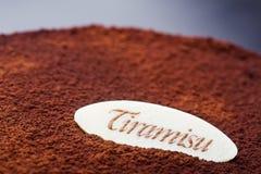 Tiramisu Fotografia Stock