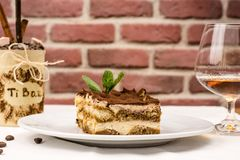 Tiramisu Royalty Free Stock Images