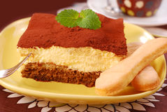 Tiramisu cake Royalty Free Stock Photos