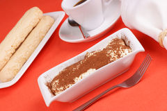 Tiramisu' cake Royalty Free Stock Photos
