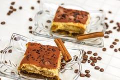 Tiramisu Cake Stock Photo