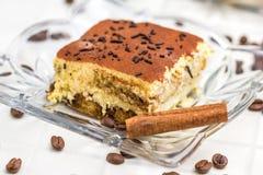 Tiramisu Cake Stock Photography