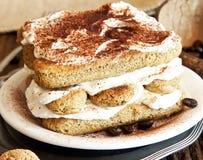 Tiramisu Cake Royalty Free Stock Photos