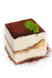 Tiramisu Cake. Royalty Free Stock Images
