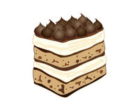 Tiramisu cake Royalty Free Stock Photography