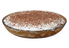 Tiramisu cake isolated Royalty Free Stock Photography