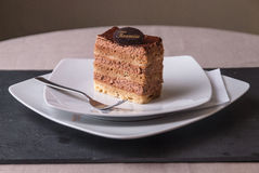 Tiramisu Cake. Ready to serve Royalty Free Stock Photography