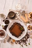Tiramisu cake. stock images