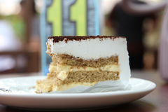 Tiramisu cake Stock Photos