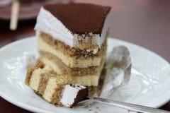 Tiramisu cake Royalty Free Stock Images