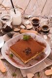 Tiramisu cake. stock photos