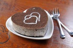 Tiramisu cheese cake Stock Image