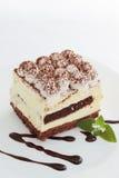 Tiramisu with chocolate Stock Photography