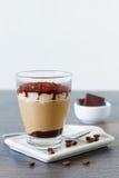 Tiramisu - Classical dessert with mascarpone and coffee Stock Photo