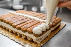 Tiramisu cookies Royalty Free Stock Photo