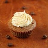 Tiramisu Cupcake στοκ φωτογραφία με δικαίωμα ελεύθερης χρήσης