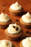 Tiramisu Cupcakes στοκ φωτογραφία με δικαίωμα ελεύθερης χρήσης