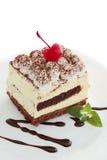 Tiramisu da pastelaria Fotos de Stock