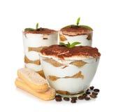Tiramisu da sobremesa Imagens de Stock Royalty Free