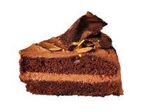 Tiramisu de dessert de gâteau de chocolat Images libres de droits