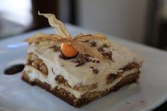 Tiramisu. Is a delicious Italian dessert Royalty Free Stock Image