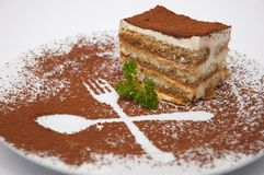 Tiramisu dessert Stock Photos
