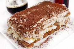 Tiramisu dessert Royalty Free Stock Photography