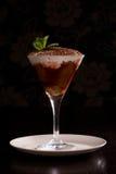 Tiramisu in een glas royalty-vrije stock foto's
