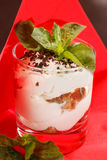 Tiramisu in a glass Royalty Free Stock Photography