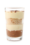Tiramisu isolated Stock Photography