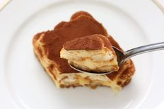 Tiramisu , italian dessert Royalty Free Stock Images