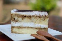 Tiramisu Italian Layered Cake Stock Photo