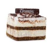 Tiramisu kaka Fotografering för Bildbyråer