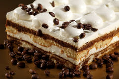 Tiramisu-Kuchen Stockbild
