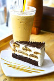 Tiramisu Kuchen Stockfoto