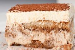 Tiramisu layers cake Stock Images