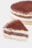 Tiramisu piece of cake Royalty Free Stock Images