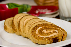 Tiramisu Roll Royalty Free Stock Photography