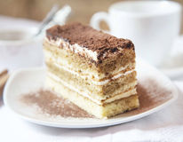 Tiramisu, Selective Focus Royalty Free Stock Images