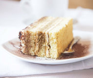 Tiramisu, Selective Focus Stock Photo