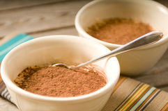 Tiramisu with spoon Royalty Free Stock Photo