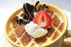 Tiramisu Tiramisù dessert. Tiramisu or Tiramisù or Tiramesù dessert Stock Photography