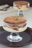 Tiramisu van het dessert. Royalty-vrije Stock Foto