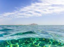 Tiran-Insel von Rotem Meer Stockbild