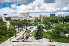 Tirana, Albanien stockfoto