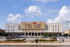 Tirana, capitale de l'Albanie Photos stock