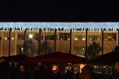 Tirana-Feiertagsdekoration lizenzfreies stockbild