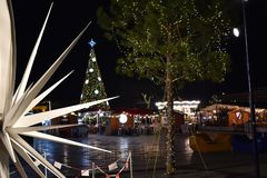 Tirana-Feiertagsdekoration lizenzfreie stockfotografie
